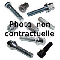 Jante acier RENAULT 3241/04 vis Vis:T�te<br>de17-Filetage12x150-Long=24-port�e<br>conique 60�